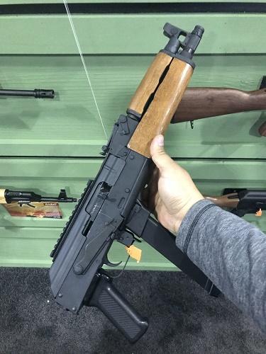 Kalachnikov et Glock hybrides