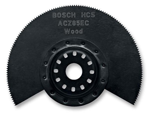 Disque de coupe semi-circulaire