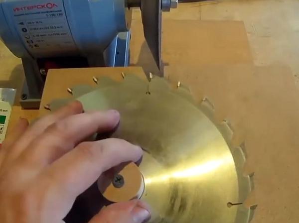 Yıkayıcı üzerinde disk