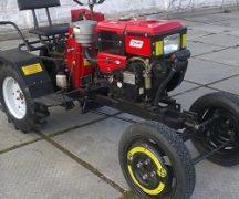 Traktor från motoblocken