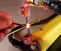 Homemade welding machine