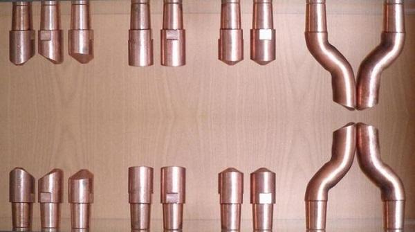 Formes d'électrodes