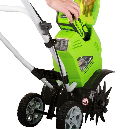 Elektrisk walking traktor