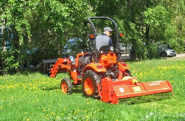 Arbeid mini traktorer