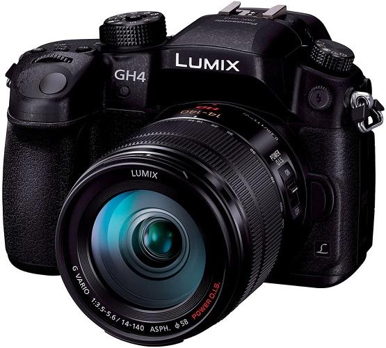 Kit Panasonic Lumix DMC-GH4