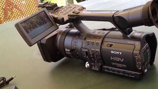 HDV Sony HDR-FX1E