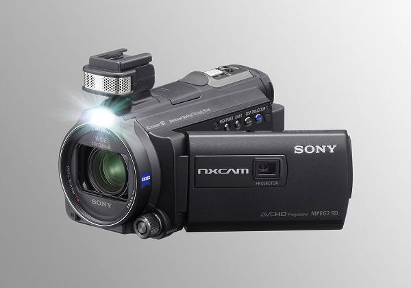 Semi-profesjonelt videokamera