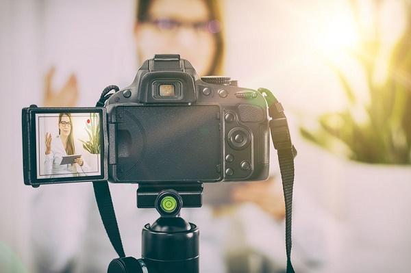 Kamera for video blogger