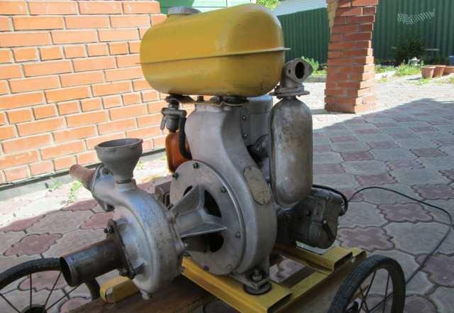 Pomp met verbrandingsmotor