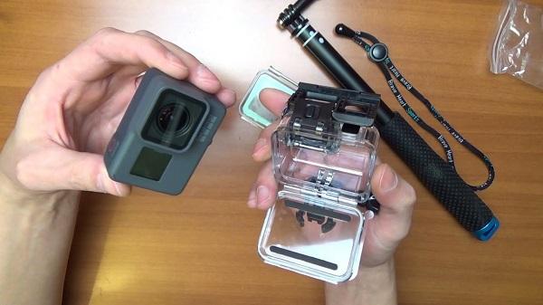 akció kamera és aqua doboz