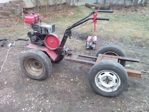 DIY kompakt traktor
