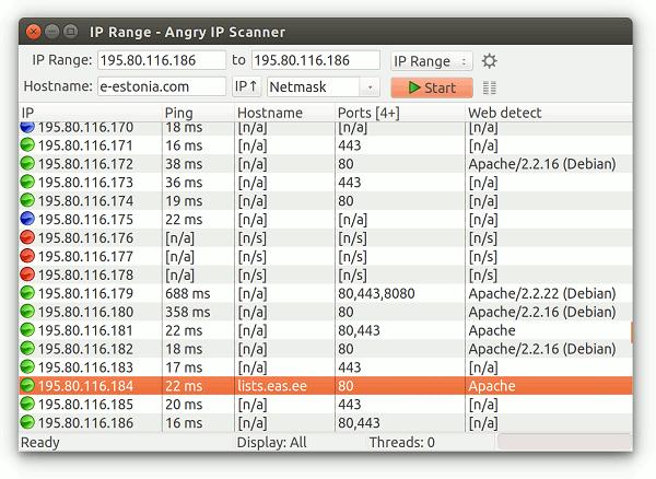 Angry Ip Scanner Program