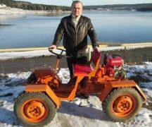 Mini-tractor intern