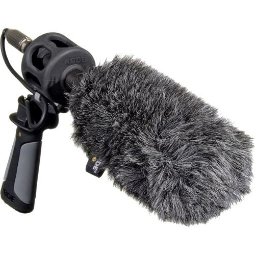 Vindtett mikrofon