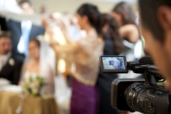 Videokamera felvétele