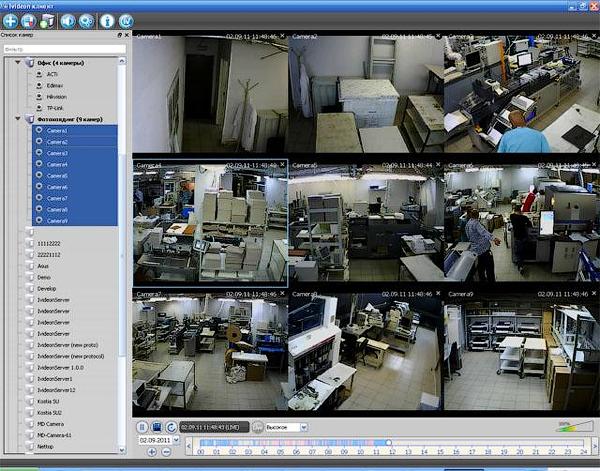 Software til visning af kameraer