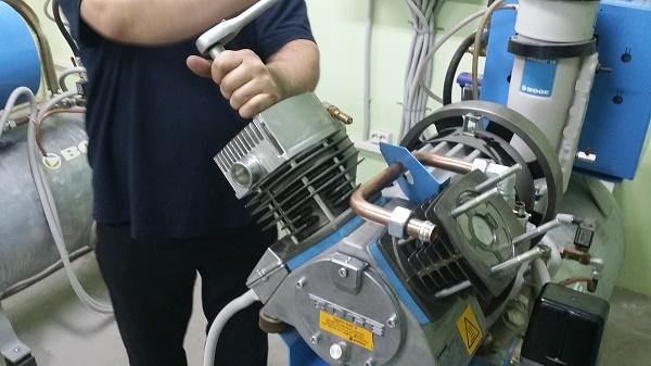 Skruvkompressor