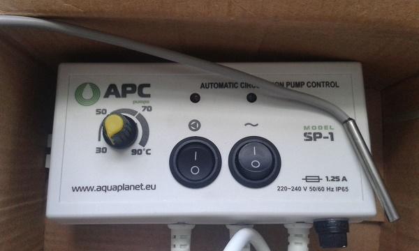 Automatisk utstyr for sirkulasjonspumpe