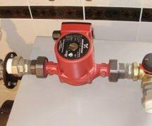 Pump i värmesystemet
