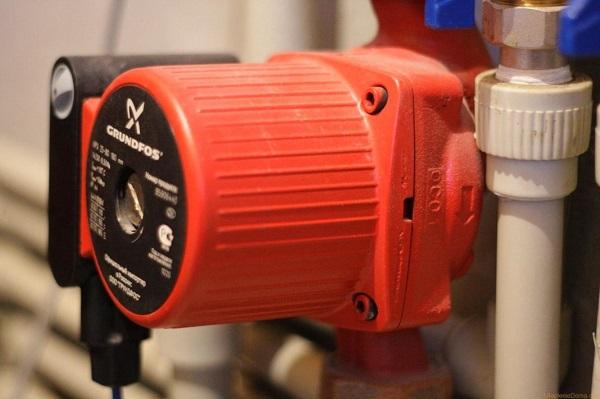 Pumpen i varmesystemet