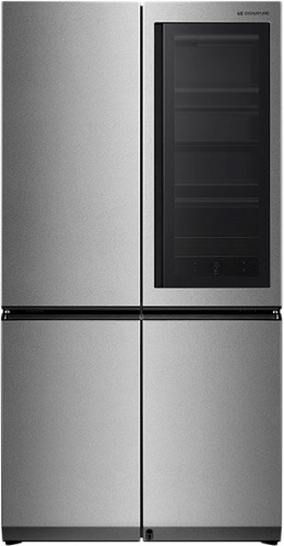 Refrigerator LG LSR100RU with closed doors