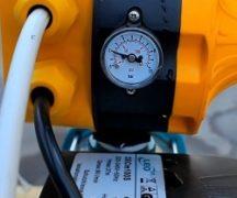 Automatisk utrustning för pumpen