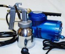 Spraypistolkompressor