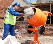 Funcționarea mixerului de beton