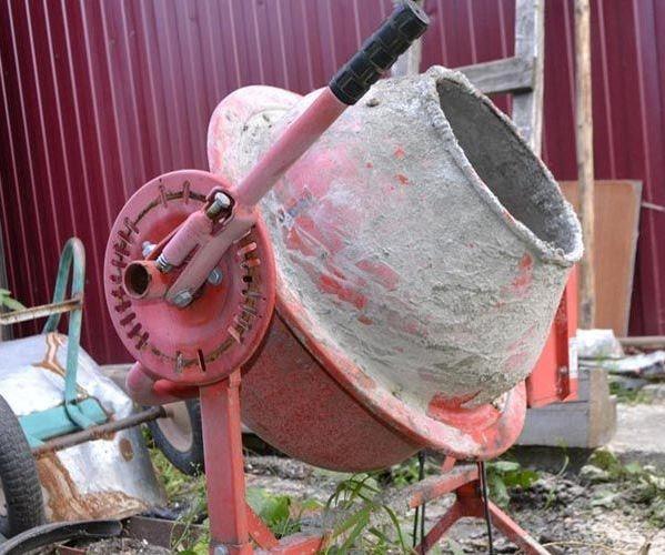 Pengadun konkrit kotor