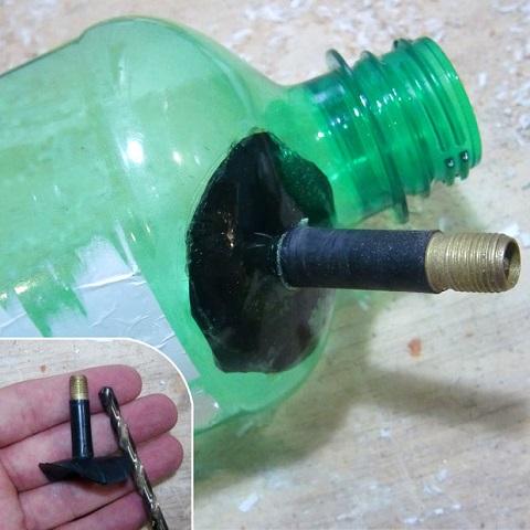 구멍에있는 밸브