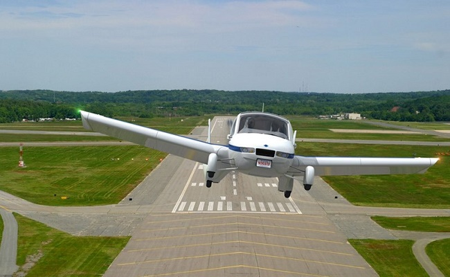 Terrafugia uçuşta geçiş