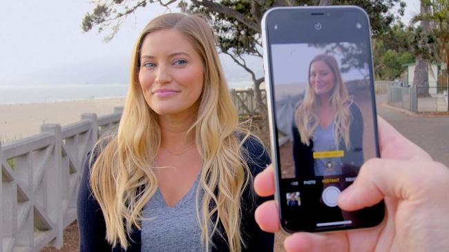 आईफोन एक्स पर कैमरा