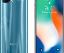 Honor 10 vs iPhone X