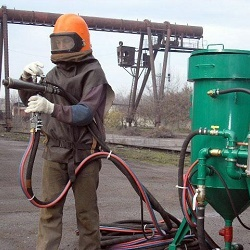 Types of equipment for sandblasting