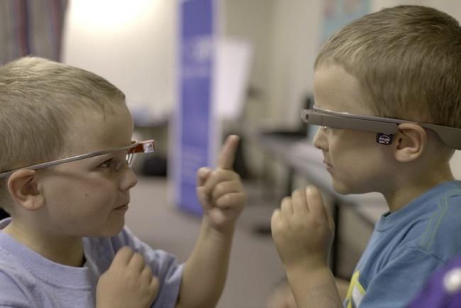 Google Glass pour les enfants autistes