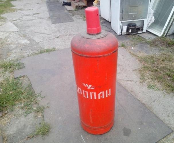 Sticlă de gaz