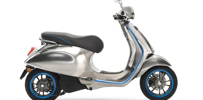 Modèle de scooter de Vespa