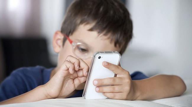 Trykk på smarttelefonen