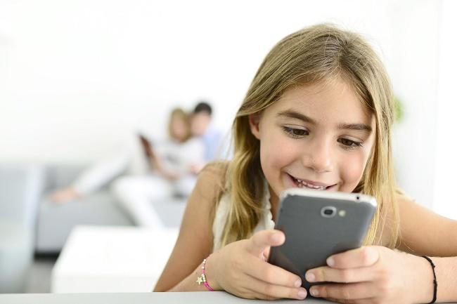 Smartphone for et barn
