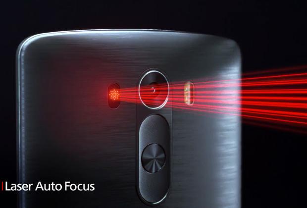 Laser fokus