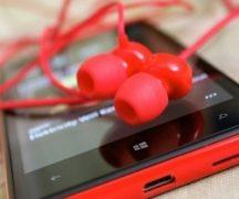 Telefon til at lytte til musik